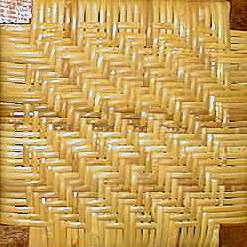 Antique chair caning several types of binders cane patterns are shown